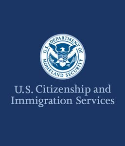 US Citizenship and Immigration Services Logo